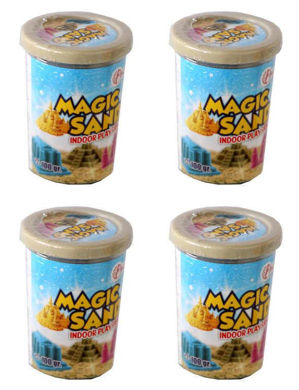 Magic Sand IndoorPlay Sand Kinetischen Sand natur 400g