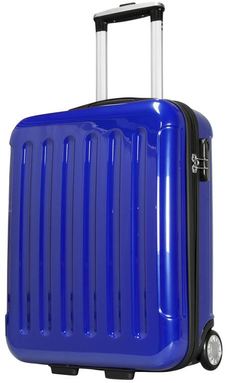 reisekoffer polycarbonat koffer 35 liter frankfurt blau. Black Bedroom Furniture Sets. Home Design Ideas