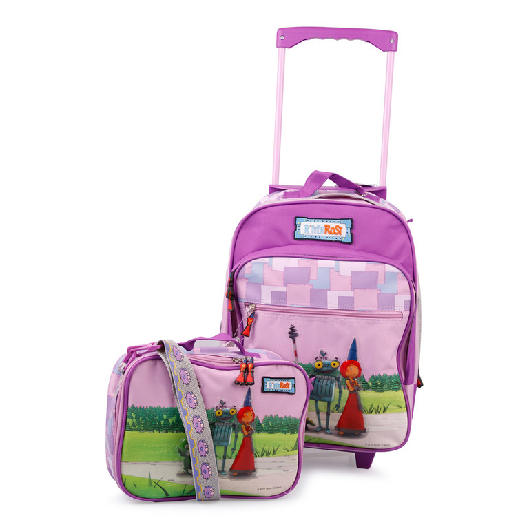 ritter rost 2 teiliges kinder reiseset f r m dchen in rosa. Black Bedroom Furniture Sets. Home Design Ideas