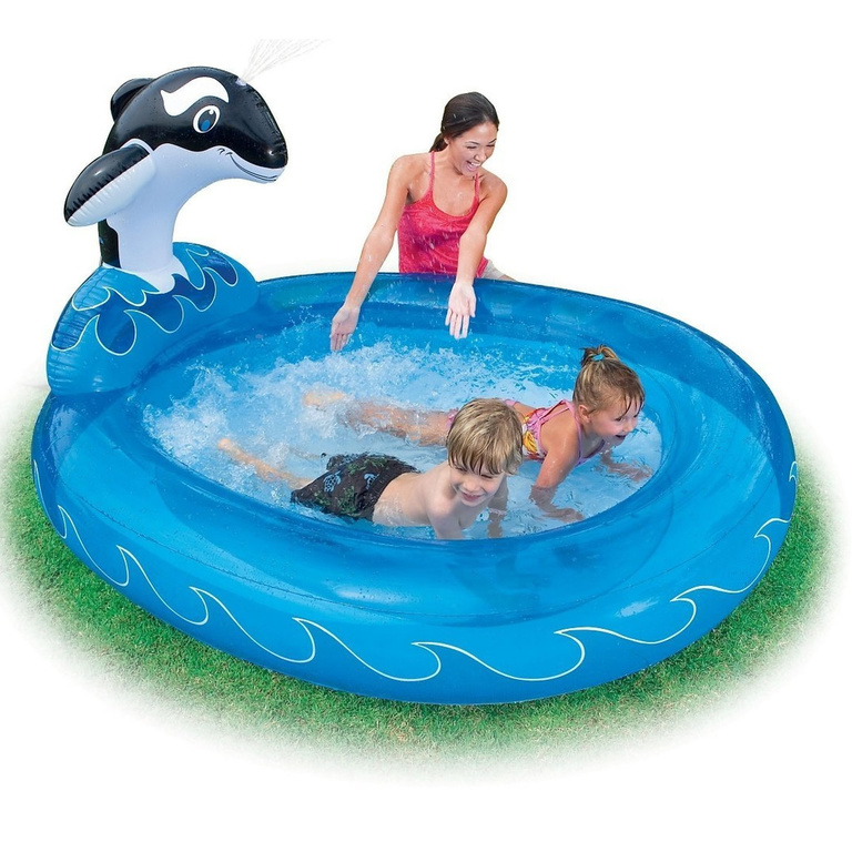 planschbecken intex spray n splash wal pool kinder schwimmbecken neu ovp. Black Bedroom Furniture Sets. Home Design Ideas