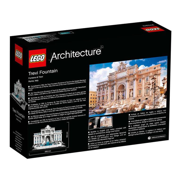 lego architecture trevi brunnen lego 21020 ovp neu blitzversand ebay. Black Bedroom Furniture Sets. Home Design Ideas