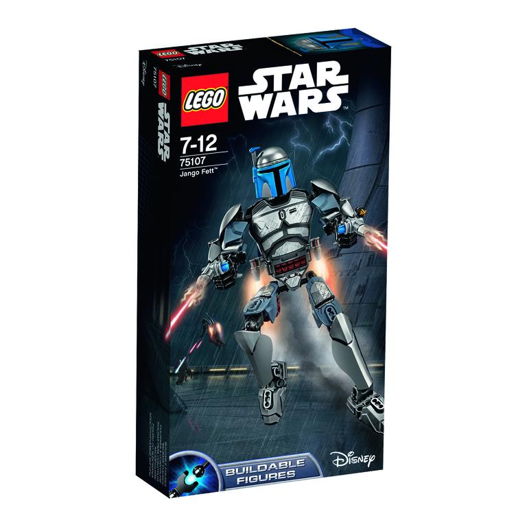 lego star wars jango fett 75107 auf rechnung kaufen. Black Bedroom Furniture Sets. Home Design Ideas